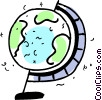 Globes Vector Clipart illustration