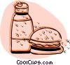 Hamburgers Vector Clip Art graphic
