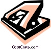Hole Punchers Vector Clip Art picture