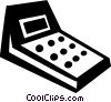 Calculators Vector Clip Art picture
