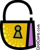 Keys and Locks Vector Clip Art picture
