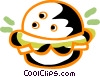 Hamburgers Vector Clipart graphic