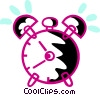 Alarm Clocks Vector Clipart picture