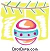 Vector Clip Art graphic  of a Ornaments Decorations