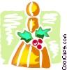 Vector Clip Art image  of a Ornaments Decorations