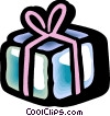 Gifts and Presents Vector Clip Art graphic