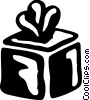 Vector Clipart image  of a Gifts and Presents