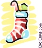 Stockings Vector Clipart picture