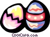 Vector Clip Art picture  of a Easter Eggs