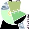 Rolodex Vector Clip Art image