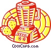 Mixers, Blenders, Food Processors Vector Clipart picture