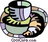 Vector Clip Art graphic  of a Croissants