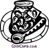 Preserves Vector Clipart picture