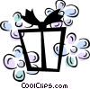Vector Clip Art graphic  of a Gifts and Presents