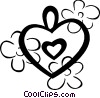 Vector Clipart illustration  of a Hearts