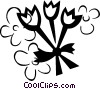 Vector Clipart image  of a Tulips