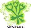 Tulips Vector Clipart picture