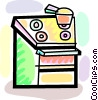 Electric Ovens Vector Clip Art picture
