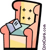 Vector Clipart graphic  of a Chairs
