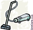 Vacuum Cleaners Vector Clipart illustration