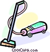 Vacuum Cleaners Vector Clipart graphic