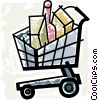 Shopping Carts Vector Clipart graphic