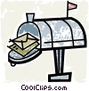 Mailboxes Vector Clip Art picture