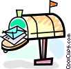 Mailboxes Vector Clipart picture
