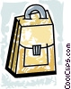 Briefcases Vector Clip Art graphic