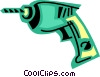 Drills Vector Clipart graphic