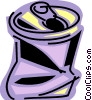 Vector Clip Art image  of a Soda and Softdrinks