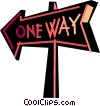 Street Signs Road Signs Vector Clip Art image