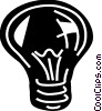Light bulbs Vector Clipart illustration