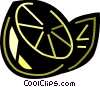 Lemons and Limes Vector Clipart illustration
