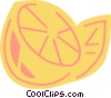 Vector Clip Art image  of a Lemons and Limes
