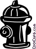 Vector Clipart picture  of a Fire Hydrants