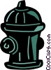 Fire Hydrants Vector Clipart graphic