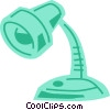 Desk Lamps Vector Clipart picture