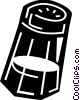 Vector Clip Art image  of a Salt and Pepper