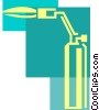 Torches Vector Clip Art picture