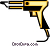 Soldering Guns Vector Clipart illustration