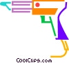 Vector Clip Art graphic  of a Soldering Guns