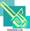 Chainsaws Vector Clipart illustration