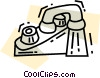 Vector Clipart illustration  of a Faucets