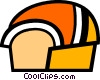 Vector Clipart illustration  of a Bread