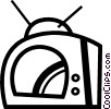 Televisions Vector Clipart picture