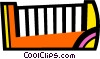 Vector Clip Art graphic  of a Combs
