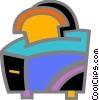 Vector Clipart illustration  of a Toasters