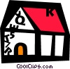 Urban Housing Vector Clipart illustration