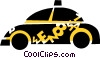Vector Clipart graphic  of a Taxis